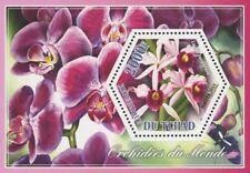 Orchid Plant Flower Nature Laelia Purpurada Flora Souvenir Sheet Mint NH