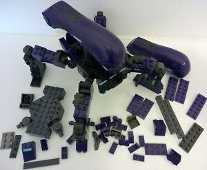 Halo Mega Bloks Covenant Locust 96965 incomplete spare repair parts 2 canopies