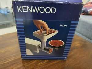 Kenwood Mincer Grinder A920 for A901 & all KM models KM Chef, Major Stand Mixers