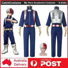 My Boku no Hero Academia Shoto Todoroki Cosplay Costume Battle Suit Full Outfit