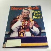 Newsweek Magazine: September 4 1978 - Pope John Paul I
