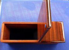 ABLAGEBOX ARMLEHNE Holz Mercedes W123 echt ZEBRANO NEU