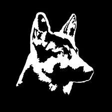 German Shepherd Puppy Dog Car White Vinyl Window Animal Lover Dog Owner Oracal