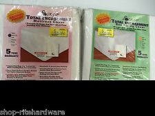 EATON LOCK UP TOTAL ENCASEMENT BEDBUG PROOF MATTRESS & BOXSPRING COVER TWIN XL
