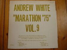Andrew White Marathon '75 Vol. 9 Kevin Toney Steve Novosel Andrew White LP RAR!