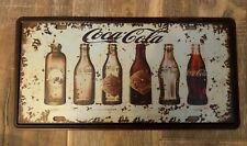 Coca Cola Cool & Classic Coke Vintage Retro Style Tin Sign 30x15cm