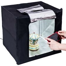 LED Photo Studio Lightbox Soft Box Photography Lighting Tent Foldable Cube