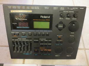 Roland Td-10 EXPANDED VDrum Module Brain td10 w/ V Cymbal Control