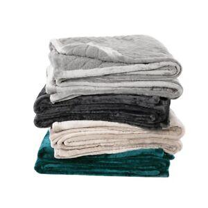 Bianca Mansfield 480gsm velvet Sherpa Blanket