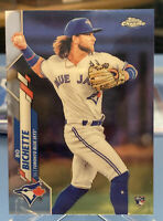 BO BICHETTE 2020 Topps Chrome Rookie Card, Blue Jays, QTY Available