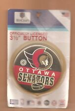 Ottawa Senators NHL Logo Officially Licensed Pin Back Button
