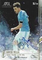 2015 Topps Major League Soccer Apex Certified Autograph Card Authentic Signature