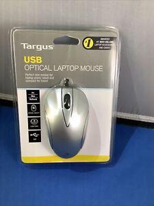 Targus USB Optical Sensor Laptop Wired Mouse (Model BUS0213) New + Sealed