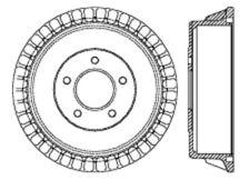 Brake Drum-C-TEK Standard Brake Drum-Preferred Rear Centric 123.65033