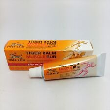 Tiger Balm Muscle Rub Cream Effective for per-Exercise warm up Fast Relief aches