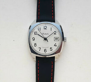 Vintage Soviet Mechanical watch Raketa. USSR