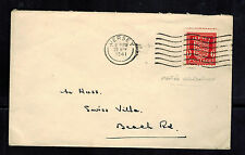 1941 Occupied Jersey England Channel Island cover to Swiss Villa BEach Road