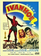 "NEW DVD  ""Ivanhoe "" Elizabeth Taylor, Robert Taylor"