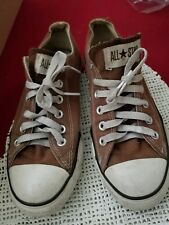 men's Converse size 6 All Star. brown sneakers