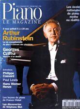 Piano magazine n° 33 avec CD - Nov-Déc 2002 - Arthur Rubinstein