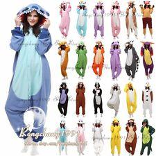Animal Cosplay Clothes Kigurumi Winter Jumpsuit One-Piece Fleece Pyjamas Suits