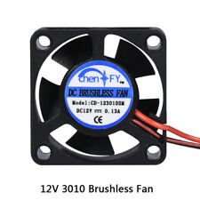 3010s 30MM 30 x 30 x 10MM 12V 2Pin DC Cooler Small Cooling Fan For 3D Pinter ...