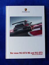 PORSCHE 911 gt3 RS-tipo 997-Hardcover prospetto brochure 07.2009