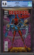 Cable #25 CGC 9.8 NM/M White Pages! Rare Rob Liefeld Deadpool cover! Free Ship