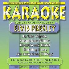 Songs Made Famous By Elvis Presley by Karaoke (CD, Jun-2002, BCI Music (Brentwo…
