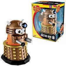"NEW IN BOX PlaySkool Dr Doctor WHO Mr Potato Head GOLD DALEK 7"" inch"