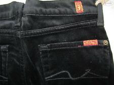 7 For All Mankind Bootcut Jeans Gr. 140, US 10, NEU ! Samt-Hose, USA ! W 25/L 28