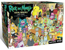 Rick and Morty: Total Rickall Cooperative Card Game CZE02174