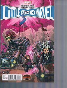 Giant-Size Little Marvel AVX #2 Nick Bradshaw 1:25 Variant Cover Marvel 2015