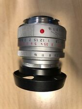 Leica SUMMICRON-M 35mm f/2 Aspherical Lens (Silver)