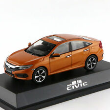 Original Model,1:43 Honda Civic 2016,Mk10,Orange,Rare