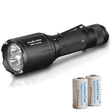Fenix TK25 R&B 1000 Lumen White, Red, & Blue LED Tactical Flashlight & Batteries