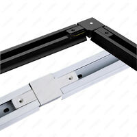 Wholesale 0.5m/1m Track Rail 2-Line Sturdy Orbit Strip Connector For LED Lamp