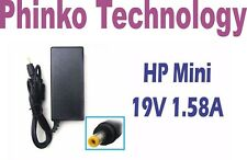 NEW HP Mini 110-3100 210-2000 Adapter Charger, 19V 1.58A