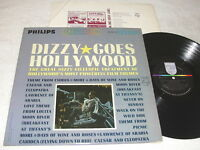 "Dizzy Gillespie ""Dizzy Goes Hollywood"" 1964 Jazz LP, Nice EX!, Stereo, Philips"