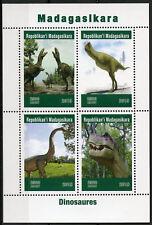Madagascar 2019 MNH Dinosaurs 4v M/S Dinosaures Prehistoric Animals Stamps