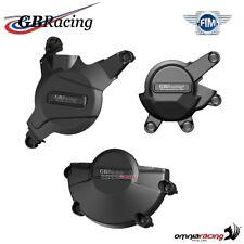 Set completo protezione carter motore GBRacing per Honda CBR600RR 2007>2016