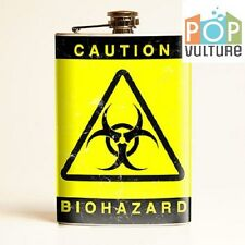Biohazard Flask, great unique gift, free postage! NEW