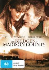 BRIDGES OF MADISON COUNTY Meryl Streep Clint Eastwood NEW DVD REGION 4 Australia