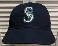 Seattle Mariners MLB Strapback Baseball Hat Cap OC Sports Navy Blue Adult