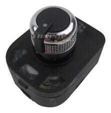 Cromo Espejo spiegel-verstellschalter Interruptor Rueda giratoria para su Audi