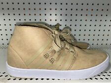 K-Swiss Cinch Mens Suede Athletic Chukka Shoes Size 8 Beige