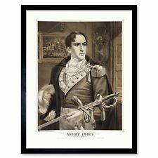 Paintings Portrait Robert Emmet Irish Patriot Martyr Hero 12X16 Framed Art Print