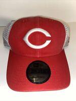 Cincinnati Reds New Era 9FORTY MLB Cooperstown Trucker Snapback Hat Mesh Cap