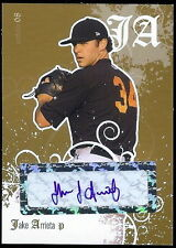 JAKE ARRIETA 2008 CERTIFIED GOLD AUTOGRAPHED ROOKIE CARD! LIMITED TO ONLY 50!