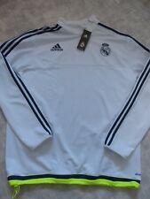 Real Madrid Adidas Training Top X-Large Brand New BNWT White
